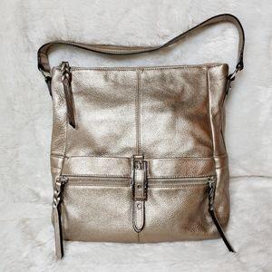 B. Makowsky Bronze Hobo Bag